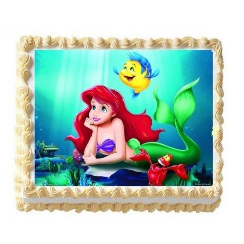 Ariel cake with photo 5