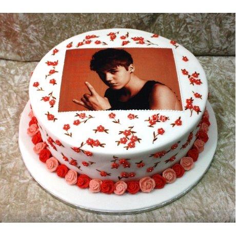 Justin Bieber cake 5
