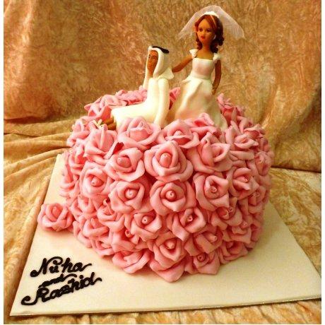 Arabic wedding cake 3