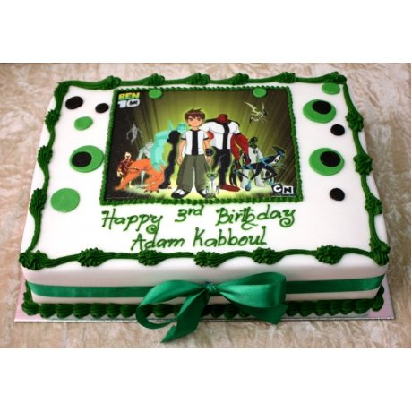 Ben 10 Cake with photo 1