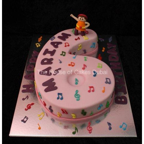 Awe Inspiring Happy Dancing Birthday Cake Personalised Birthday Cards Cominlily Jamesorg