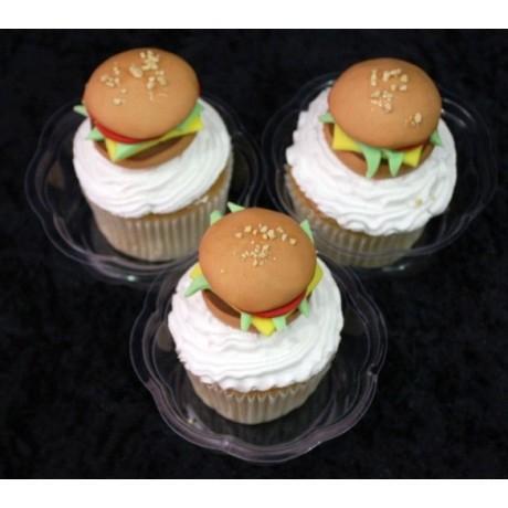 Burger cupcakes 2
