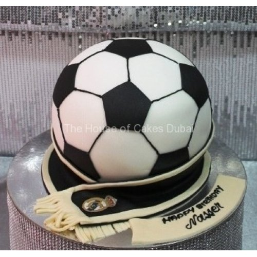 Awesome Real Madrid Cake 5 Funny Birthday Cards Online Elaedamsfinfo