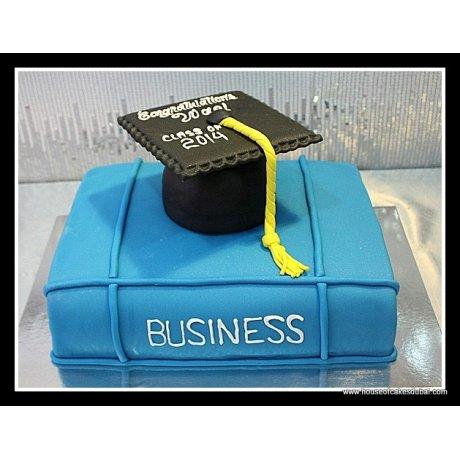 Graduation cake 19