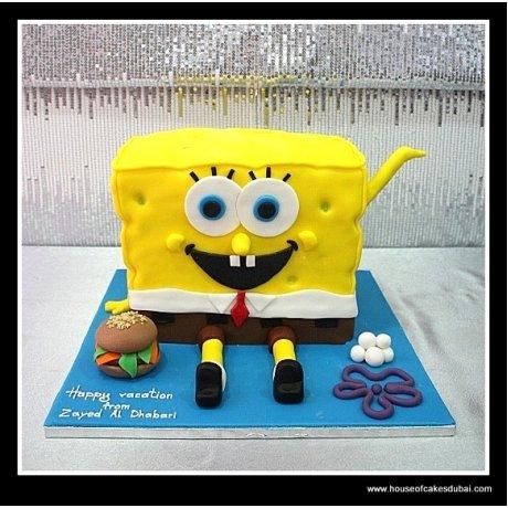 Sponge Bob cake 3