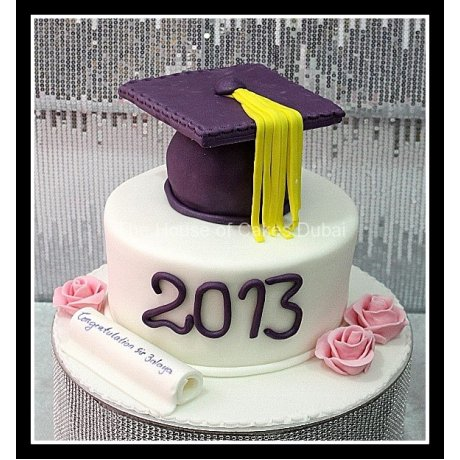 graduation cake 23 8