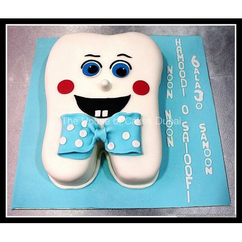 First tooth cake 2