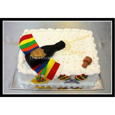 dom perignon cake 2 6