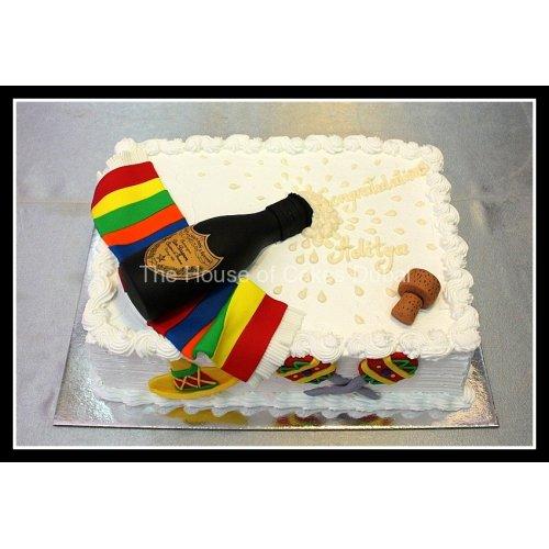 dom perignon cake 2 7