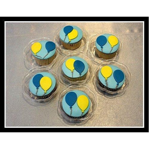 Balloons cupcakes 2