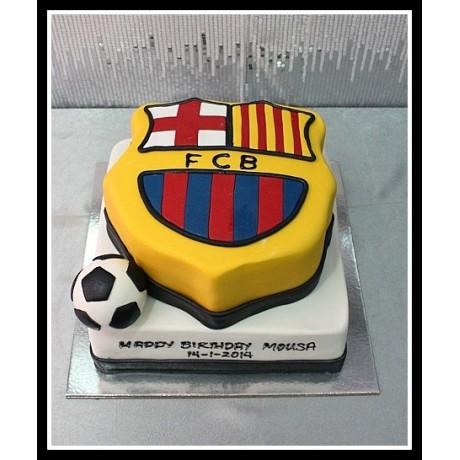 Barcelona cake 8