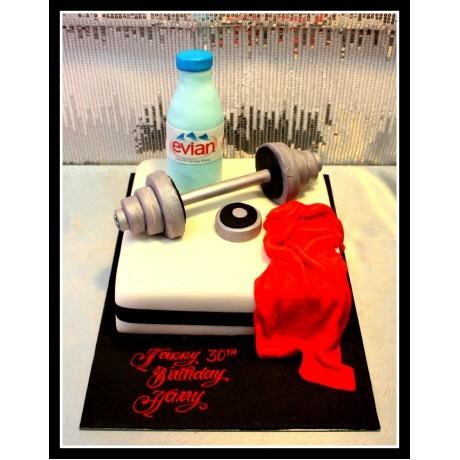 weights lifting cake 1 7