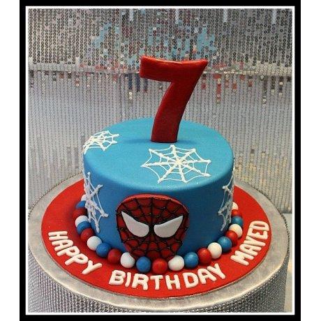 Spiderman cake 15