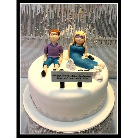 Anniversary cake 6
