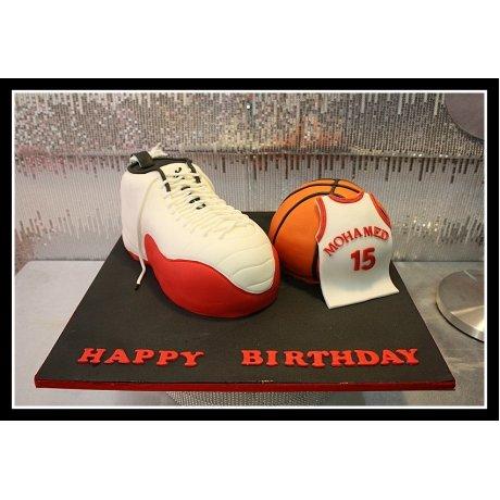 Basketball cake 3