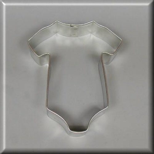 """3.5"""" Baby One Piece T Shirt Cookie Cutter"""