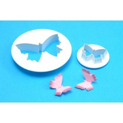 PME plastic cutter butterfly set of 2