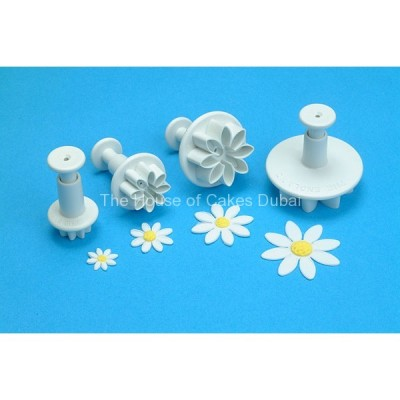 PME plunger cutter daisy marguerite set of 4
