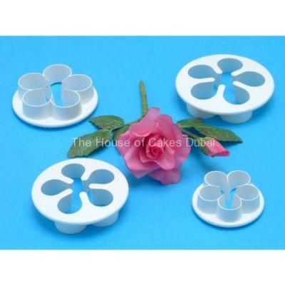 PME plastic cutter 5 petal - 4 pcs set