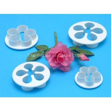 pme plastic cutter 5 petal - 4 pcs set 12
