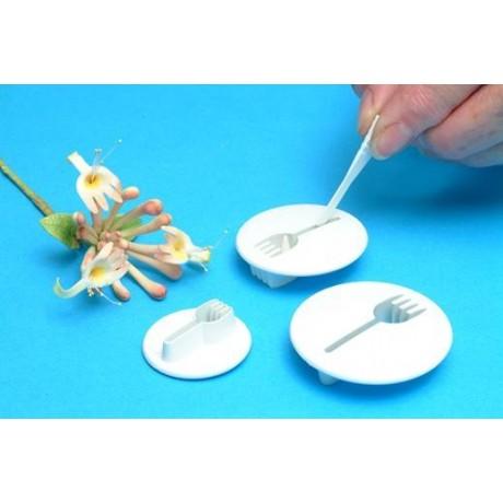 pme plastic cutter honeysuckle - 3 pcs set 6