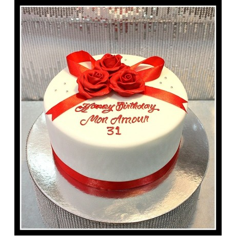cake with roses 8 7