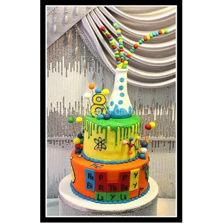 chemistry cake 6