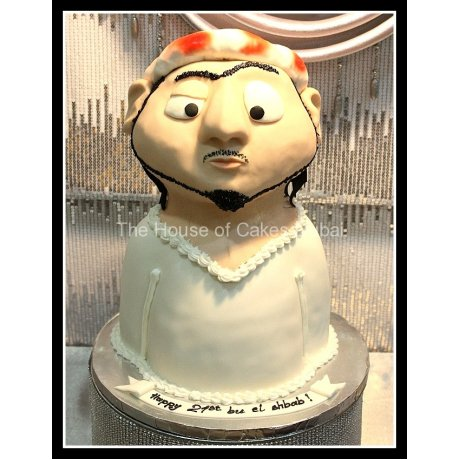 Arab men cake 6