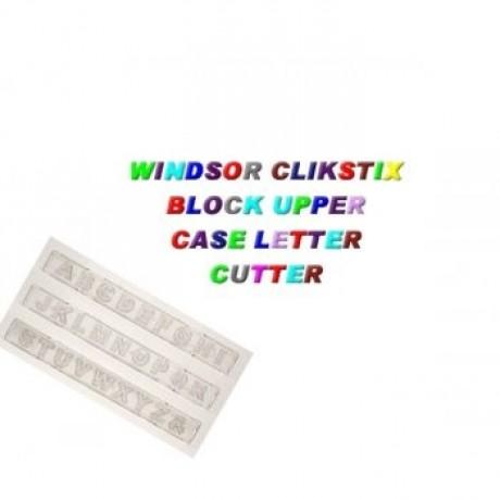 block upper case letter clikstix 6