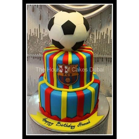 barcelona cake 9 7