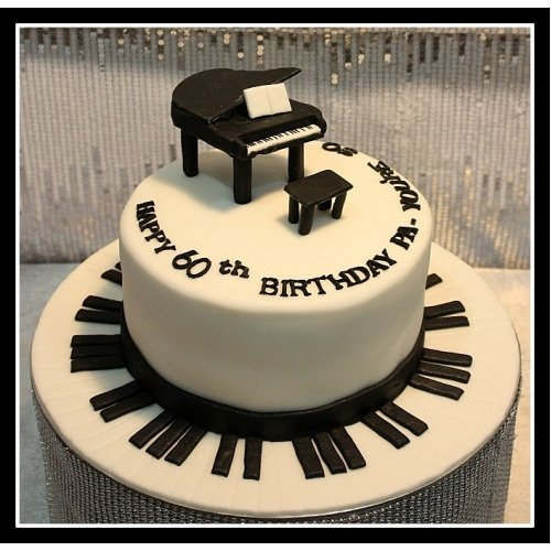 Enjoyable Piano Cake 3 Funny Birthday Cards Online Aeocydamsfinfo