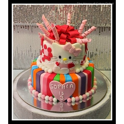 Hello Kitty Cake 23