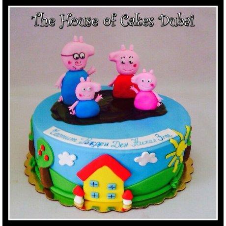 Peppa Pig Cake 5