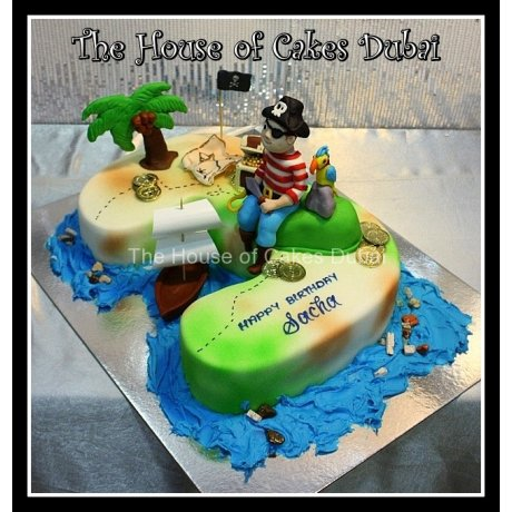 3rd Birthday Pirate Theme Cake