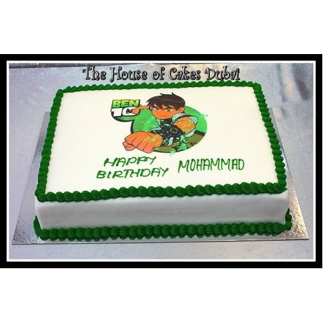 ben 10 cake with photo 3 7