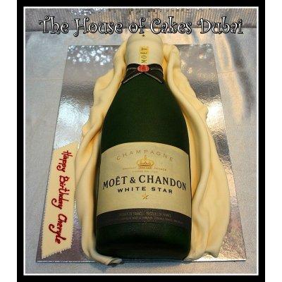 Moet & Chandon Champagne Cake
