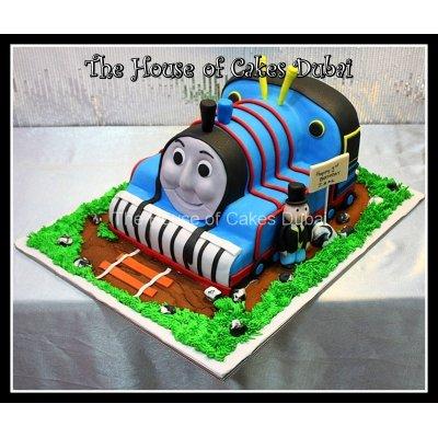 Thomas Tank cake 8