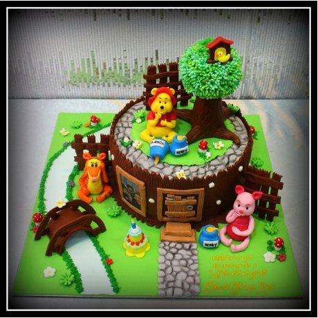 winnie the pooh cake 27 8