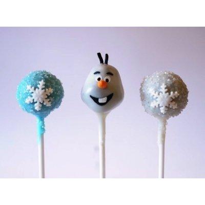 Frozen cake pops 2