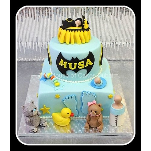 Baby Batman cake