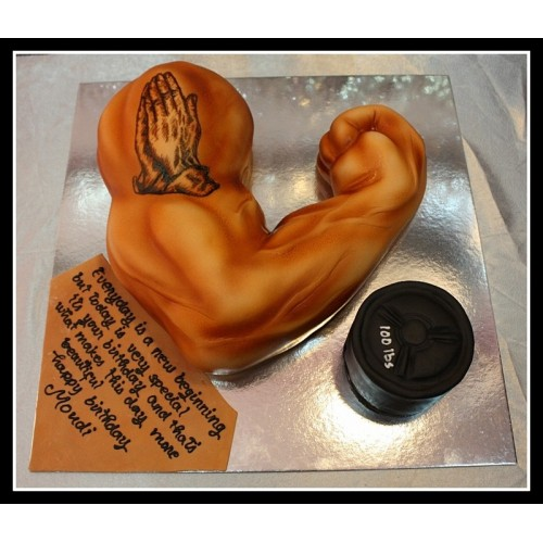Muscle Arm Cake 3