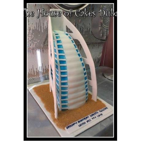 Burj Al Arab Cake 2