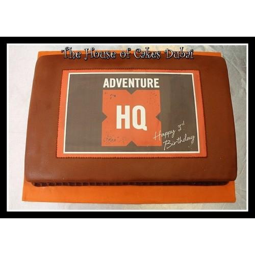 Adventure HQ cake