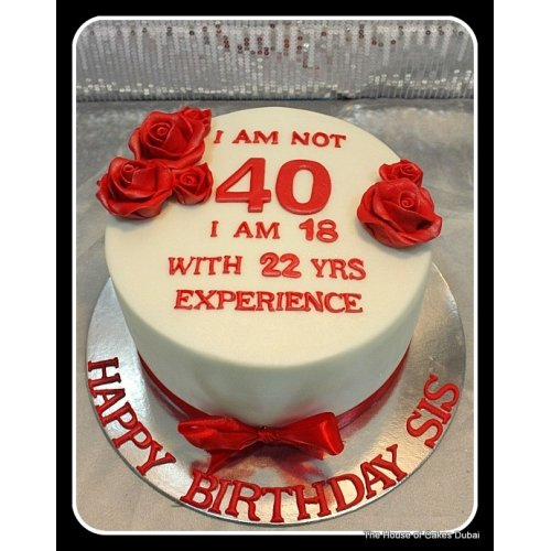 40th birthday cake 3