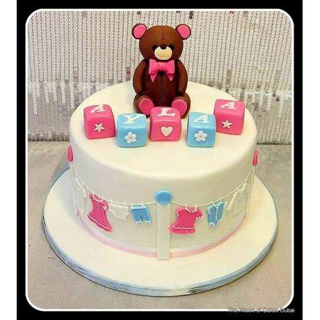 Baby shower cake 23