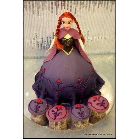 Anna cake and cupcakes