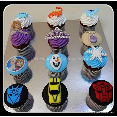 custom cupcakes selection 7