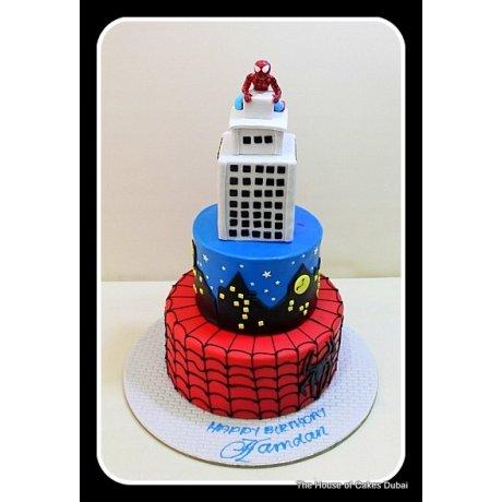 Spiderman Cake 17