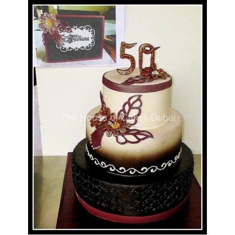 50th Birthday Cake 2