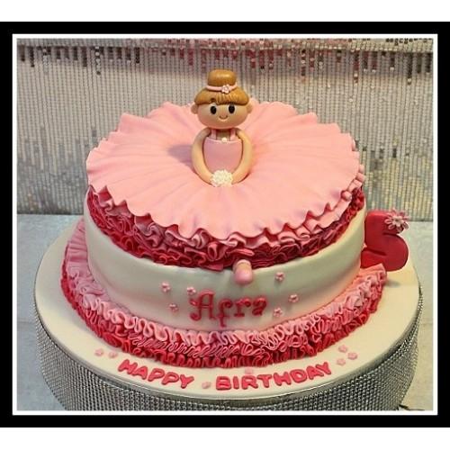 Ballerina cake 8